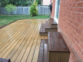image of composite deck