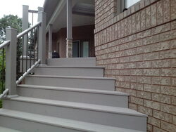 Image of composite stairs and railing